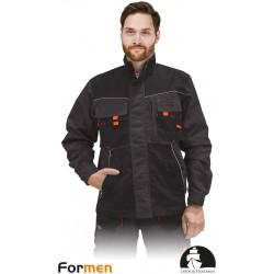 Bluza ochronna Formen LHFMNJ SBN stalowo-czarno-pomarańczowa