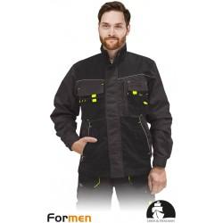 Bluza ochronna Formen LHFMNJ SBY stalowo-czarno-żółta