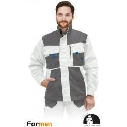 Bluza ochronna Formen LHFMNJ WSN biało-szaro-niebieska