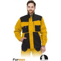 Bluza ochronna Formen LHFMNJ YBS żółto-czarno-szara