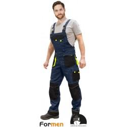 Spodnie ogrodniczki robocze Formen LHFMNB GBY