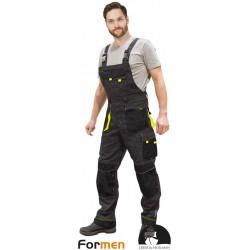 Spodnie robocze ogrodniczki Formen LHFMNB SBY