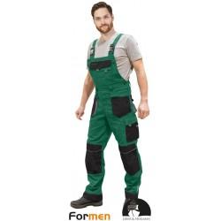 Spodnie robocze ogrodniczki Formen LHFMNB ZBS