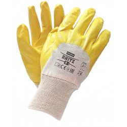 Rękawice ochronne powlekane nitrylem REIS RNITZ BEY r. 7 - 10