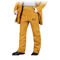 Spodnie ochronne skórzane dla spawacza WY SSBY