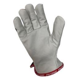 Rękawice robocze kozia skóra PROBLUE