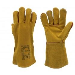 Rękawice spawalnicze dwoina nić kevlar ECONOMY