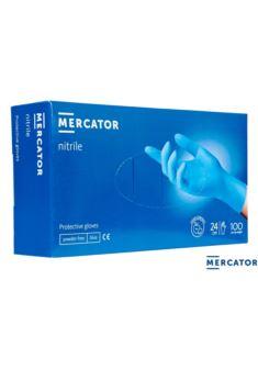 Rękawice nitrylowe bezpudrowe blue RMM-NITRILE