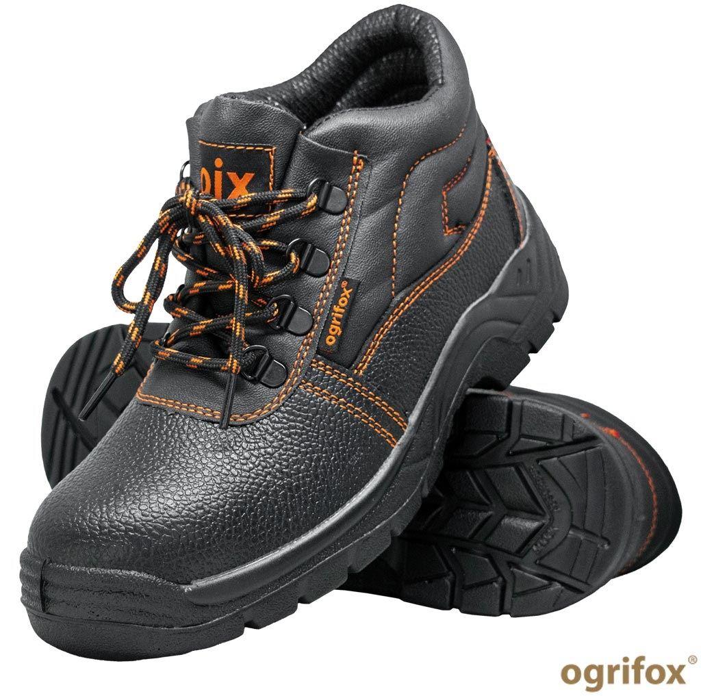Buty zawodowe trzewiki skórzane OX-OIX-T-OB
