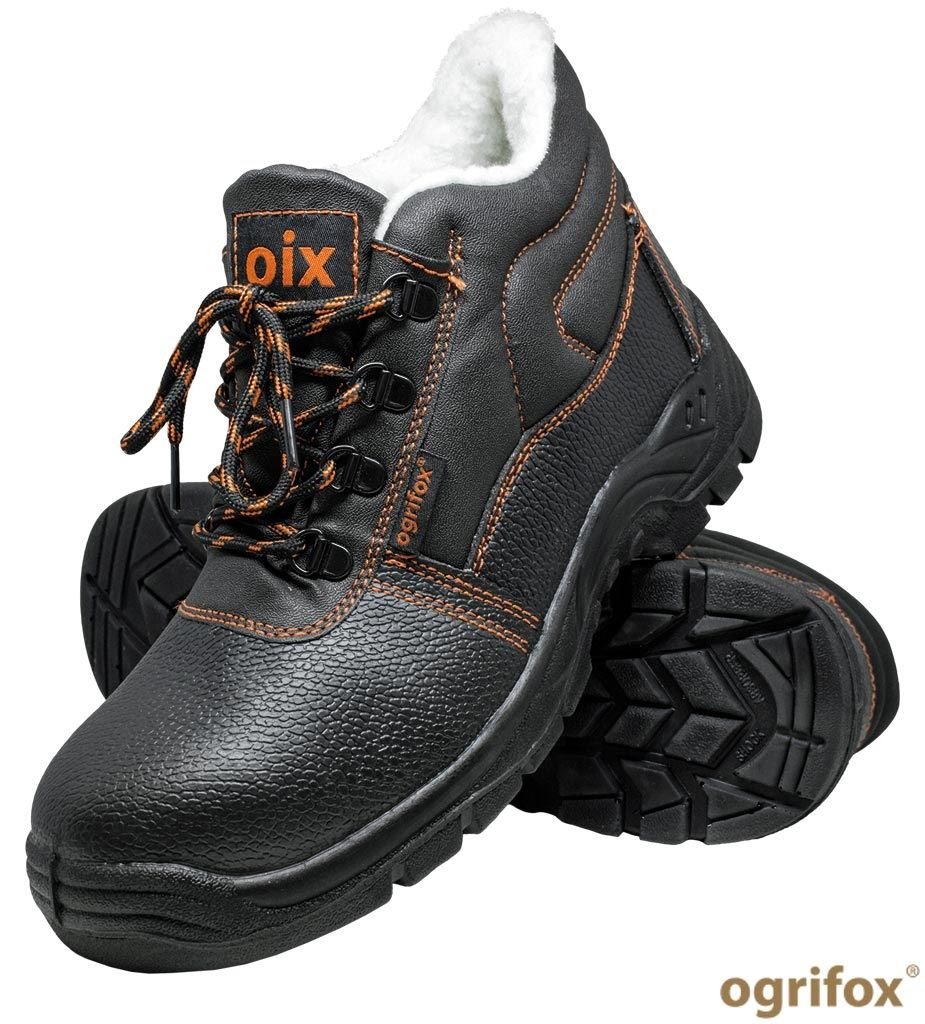 Buty bezpieczne trzewiki skórzane OX-OIX-TO-SB