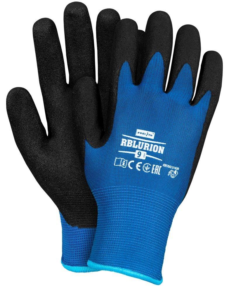 Rękawice robocze zimowe ocieplane RBLURION