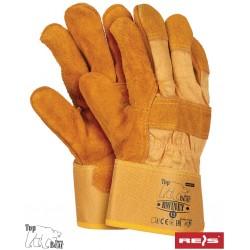 Rękawice ochronne skóra bydlęca wkładka Thinsulate RWINEY YH r. 11