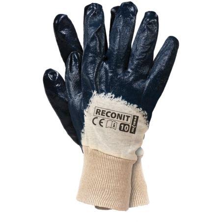 Rękawice robocze powlekane nitrylem RECONIT N