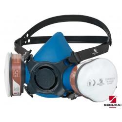 Zestaw SECURA 3100 LAK półmaska z pochłaniaczami i filtrami