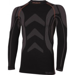 Koszulka termoaktywna BRUBECK czarno-szara r. S - 2XL